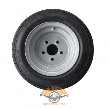 Car trailer complete wheel 10 inches Vredestein 195/50 B10 ,18 x 8.0 - 10, rim 6 x 10, 6.00x10, 6j x 10 - 5 x 112