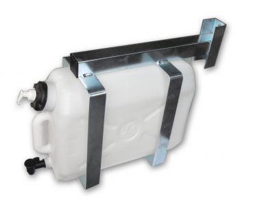 Truck watermate / water canister incl. mounting 25 Liters white - commercial vehicles